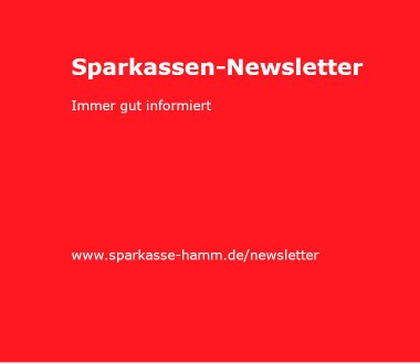 Sparkassen-Newsletter